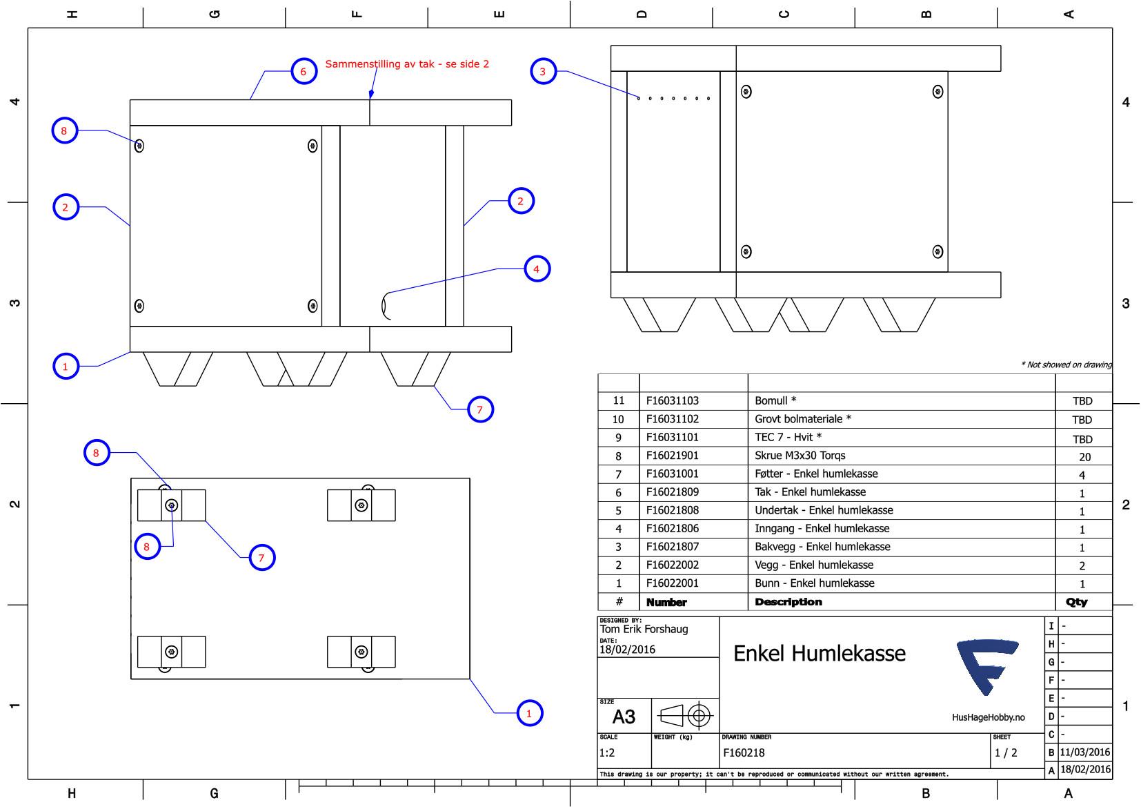 F16021801 - Enkel humlekasse 1