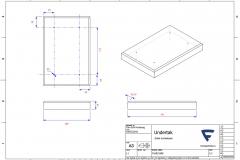 F16021808 - Enkel humlekasse undertak