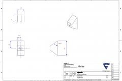 F16031001 - Enkel humlekasse føtter