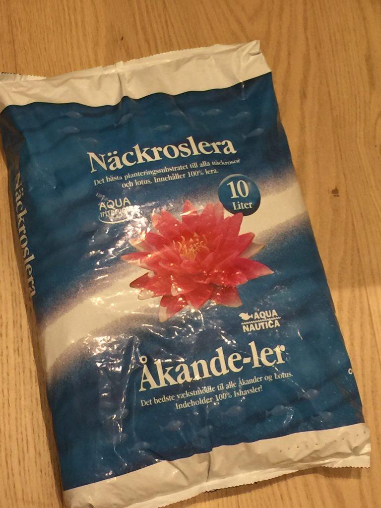 Vannliljejord Nackroslera til vannliljer