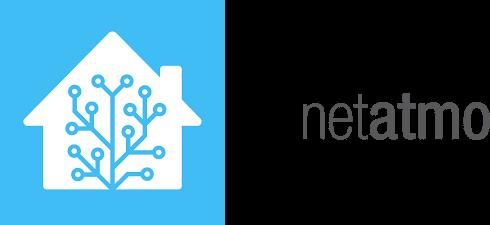 Home Assistant og Netatmo logo