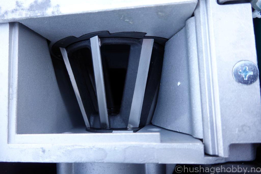 Turbinkniver kompostkvern