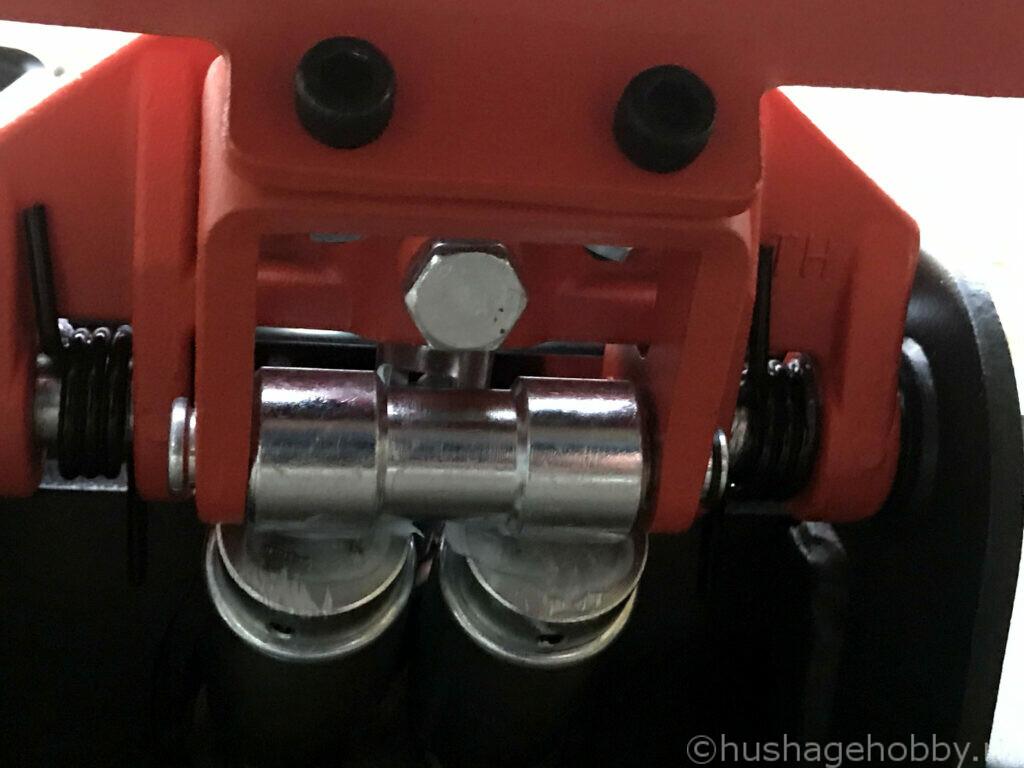 Strammeskrue for håndtak til garasjejekk