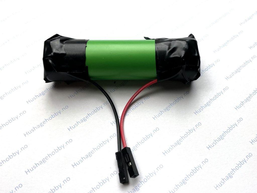 Batteri klart til installasjon i fuktmåler